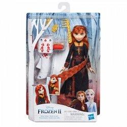 Hasbro Lalka Frozen 2 z lokówką Anna
