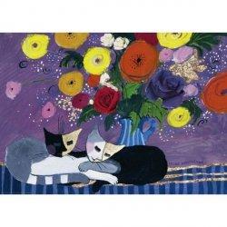Heye Puzzle 1000 elementów Śpiące koty