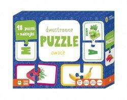 Dwustronne puzzle Owoce