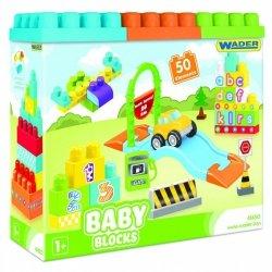 Wader Wader Baby Blocks Klocki 50 el.