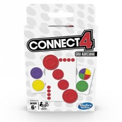 Hasbro Gra karciana Connect 4 Card Game