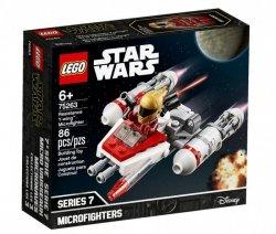 LEGO Klocki Star Wars Mikromyśliwiec Y-wing Ruchu Oporu