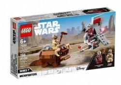 LEGO Klocki Star Wars T-16 Skyhopper kontra Banthy