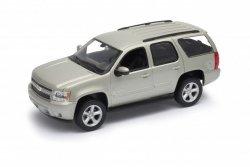 Welly Model kolekcjonerski 2008 Chevrolet Tahoe, srebrny