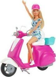 Mattel Lalka Barbie + skuter