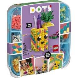 LEGO Klocki Pojemnik na długopisy w kształcie ananasa DOTS