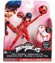 Cobi Figurka Miraculous 19 cm Jump&Fly Ladybug