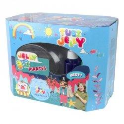 TUBAN Zestaw Tubi Jelly 8 kolorów duże akwarium Piraci