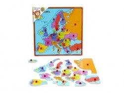 Brimarex Drewniana Mapa Europy