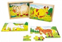 Brimarex Układanka drewniana Zwierzęta domowe