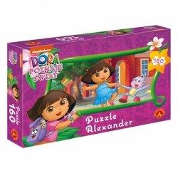 Alexander Puzzle 160 Elementów Dora poznaje świat - Wesoły spacer