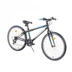 """Rower dziecięcy Junior Bike DHS Teranna 2421 24"""" - model 2019 Kolor Zielony"""