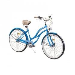 "Damski rower miejski DHS Cruiser 2698 26 ""- model 2019 Kolor Fioletowy"