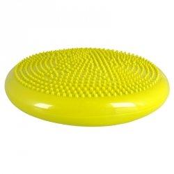 Poduszka sensomotoryczna do masażu inSPORTline Bumy BC100 Kolor Ciemno żółto-zielony