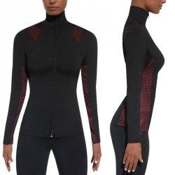 Damska sportowa koszulka BAS BLACK Inspire Blouse Kolor Czarno-różowy, Rozmiar XL