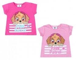 T-shirt niemowlęcy Psi Patrol : Rozmiar: - 74cm