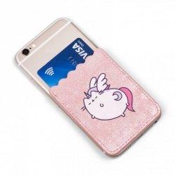 Kieszonka do telefonu na karty kredytowe Pusheen
