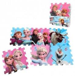 Puzzle piankowe Frozen - Kraina Lodu