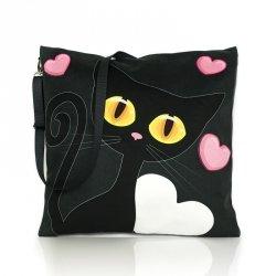 Poduszka mobilna Czarny Kot