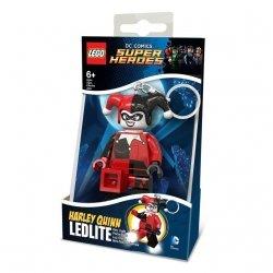 Brelok do kluczy z latarką Lego Batman Movie – Harley Quinn 01