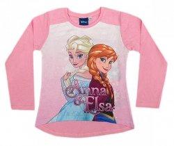 Bluzka długi rękaw Frozen - Kraina Lodu : Rozmiar: - 122/128