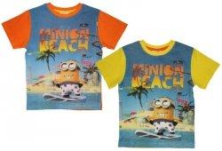 T-shirt Minionki : Rozmiar: - 128