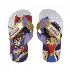 Klapki, japonki Superhero girls : Rozmiar: - 29