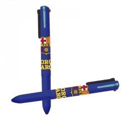 Długopis trójkolorowy FC Barcelona