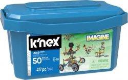 K'nex K'nex Imagine Strefa Tworzenia - zestaw konstrukcyjny - 50 modeli