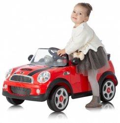 RollPlay Mini Cooper S, 6V czerwony - samochód elektryczny