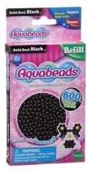Aquabeads Czarne lite koraliki