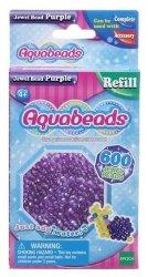 Aquabeads Fioletowe koraliki-klejnociki