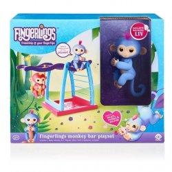 WowWee Fingerlings plac zabaw z huśtawką - zestaw