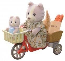 EPOCH  Sylvanian Families przejażdżka rowerowa z mamą
