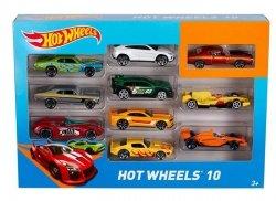 Mattel Hot Wheels Samochodziki Dziesięciopak Ast.