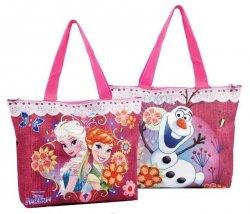 Coriex Frozen Glam Sister duża torba na zamek
