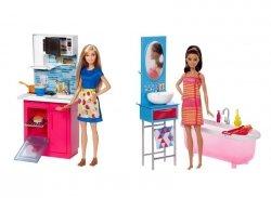 Mattel Barbie Mebelki + lalka Ast.