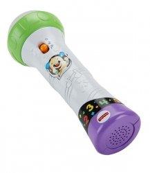 Mattel Fisher Price Ucz się i śmiej Mikrofon Malucha – Śpiewaj i nagrywaj!