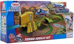 Mattel Tomek i Przyjaciele Track Master Turboskok - Ucieczka z dżungli Zestaw