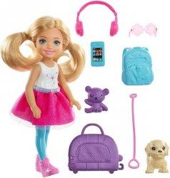 Mattel Barbie Dreamhouse Adventures Chelsea w podróży Lalka
