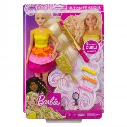 Barbie Lalka Stylowe Loki Zestaw DIY