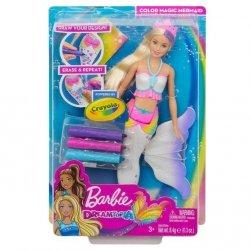 Mattel Barbie Dreamtopia Syrenka kolorowa magia