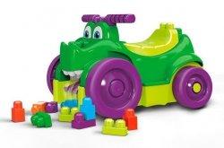 Mattel Mega Bloks Jeździk Zjadacz klocków Krokodyl