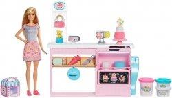 Mattel Barbie Pracownia wypieków Barbie Zestaw + Lalka