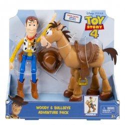 Mattel Toy Story 4 Chudy + Mustang Zestaw prezentowy