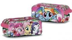 Coriex My Little Pony Power Color piórnik 3 przegrody