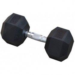 Hantla gumowa Hex 20 kg eb fit