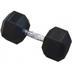 Hantla gumowa Hex 25 kg eb fit