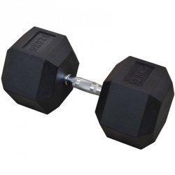 Hantla gumowa Hex 52,5 kg eb fit