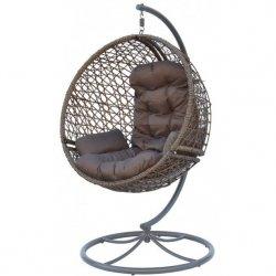 Huśtawka Fotel Wiszący Cocoon Obrotowy Look 360 Mocca/Brązowy
